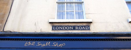 Placa de London Rd en BAth