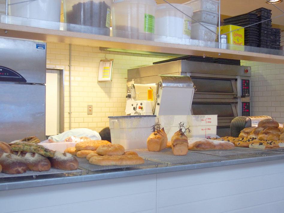 Albion en Shoreditch cocina