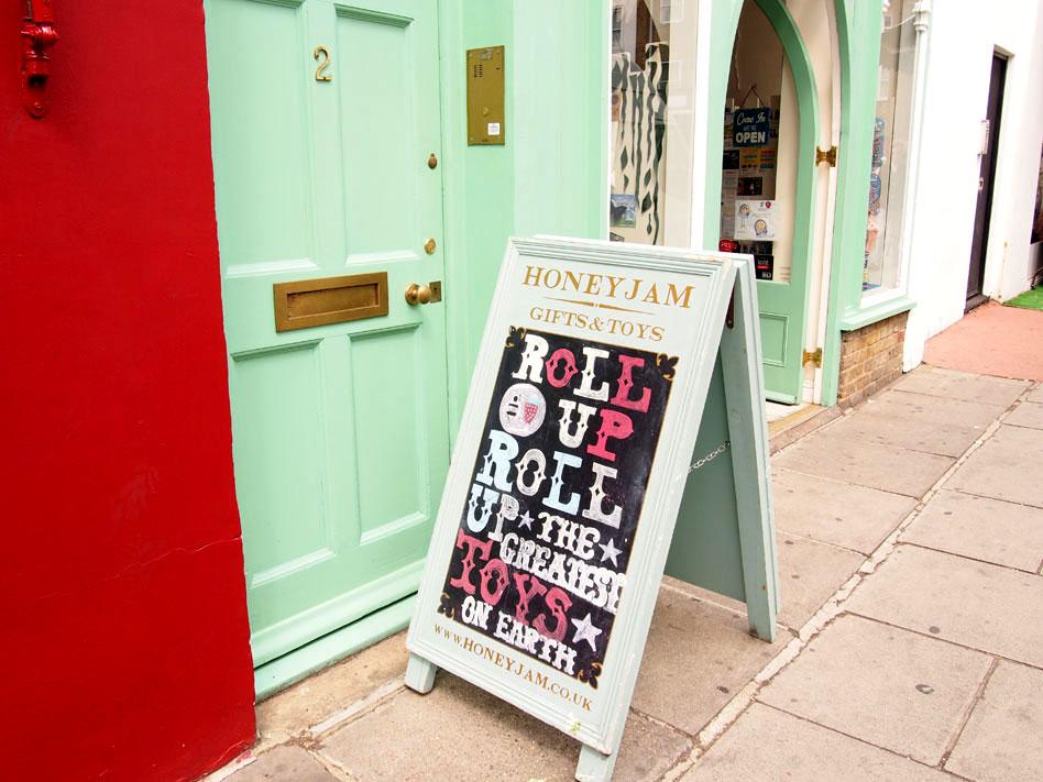 Paseo por Notting Hill tienda