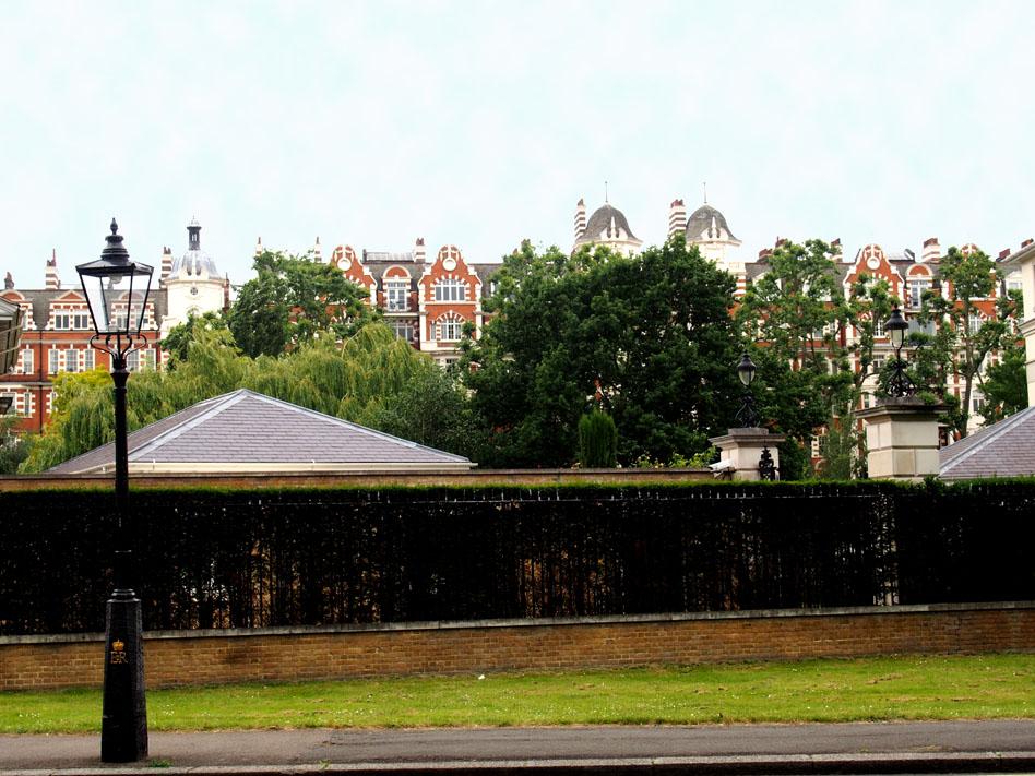 Regents PArk 10 cosas que ver casas