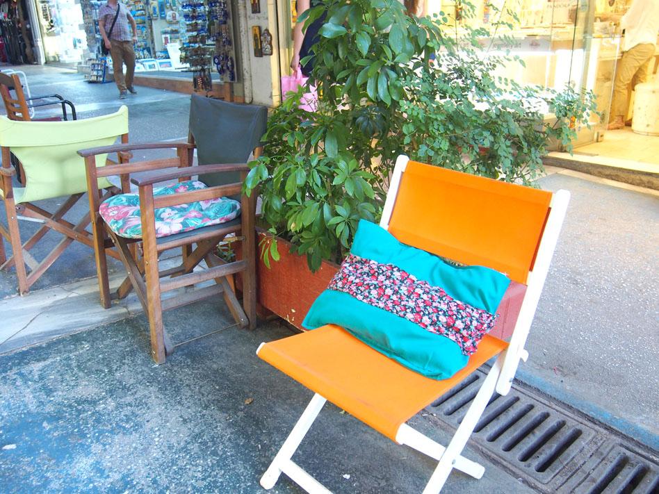 Grecia Atenas Calle Pandrossou