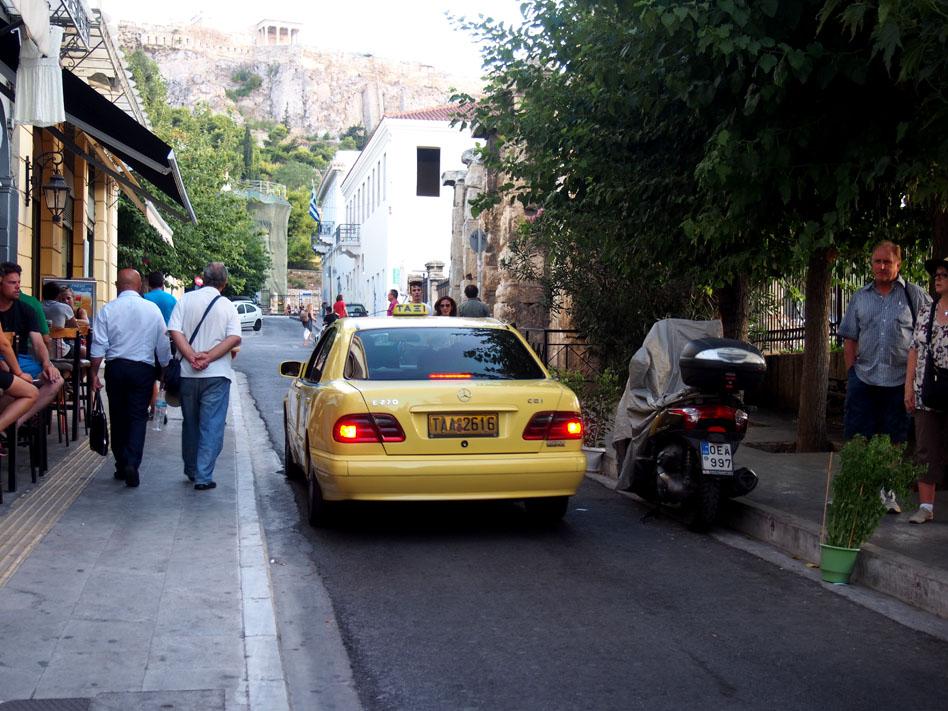 Grecia Atenas taxi
