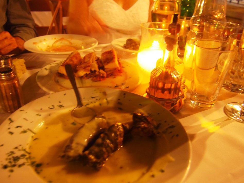 Grecia Atenas comida griega