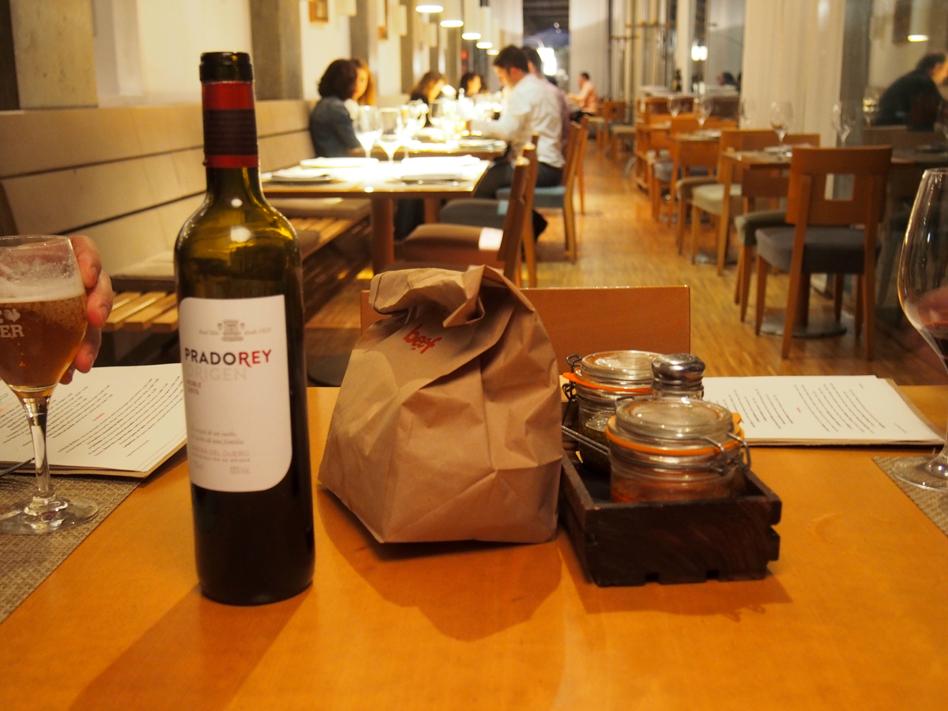 beef place restaurante con jardín en Madrid vino