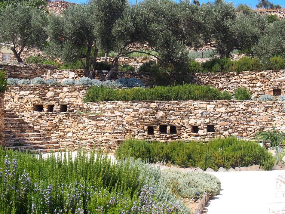 Hotel Kamarotí en Sifnos paisaje