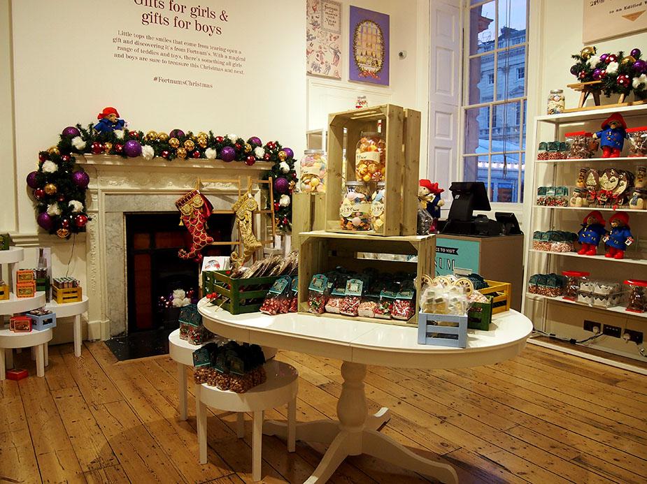 Somerset House en navidad tienda
