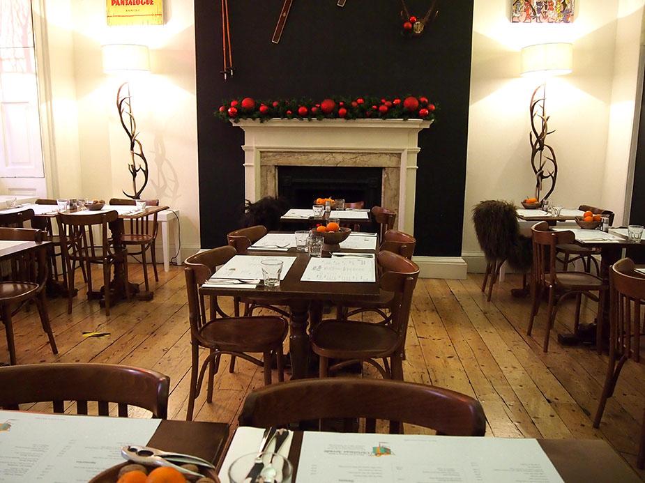 Somerset House en navidad restaurante