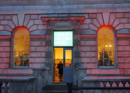 Somerset House en Navidad