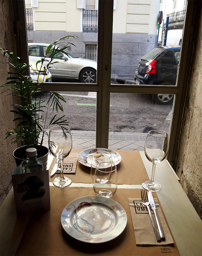 Barrio de las salesas de madrid dray martina mesa