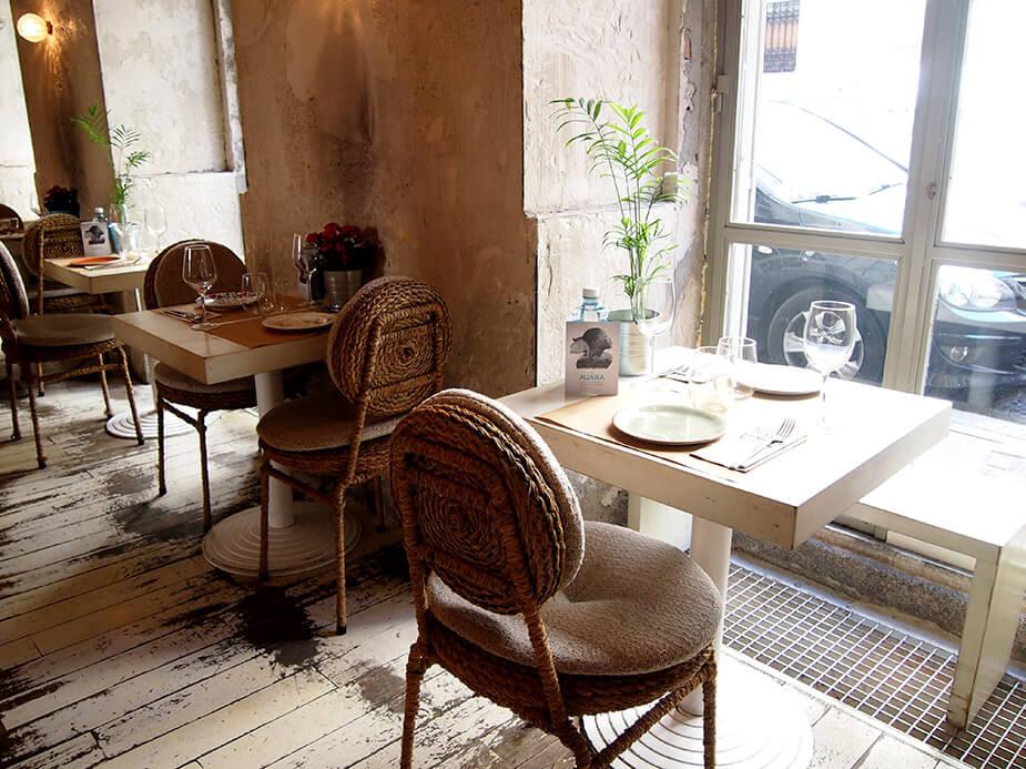 Barrio de las salesas de madrid dray martina mesas