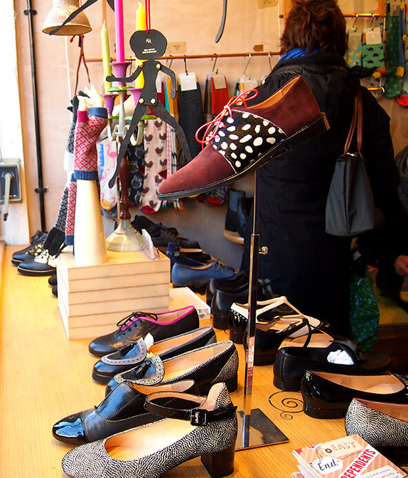 Tiendas de Columbia Road Peponita and friends zapatos