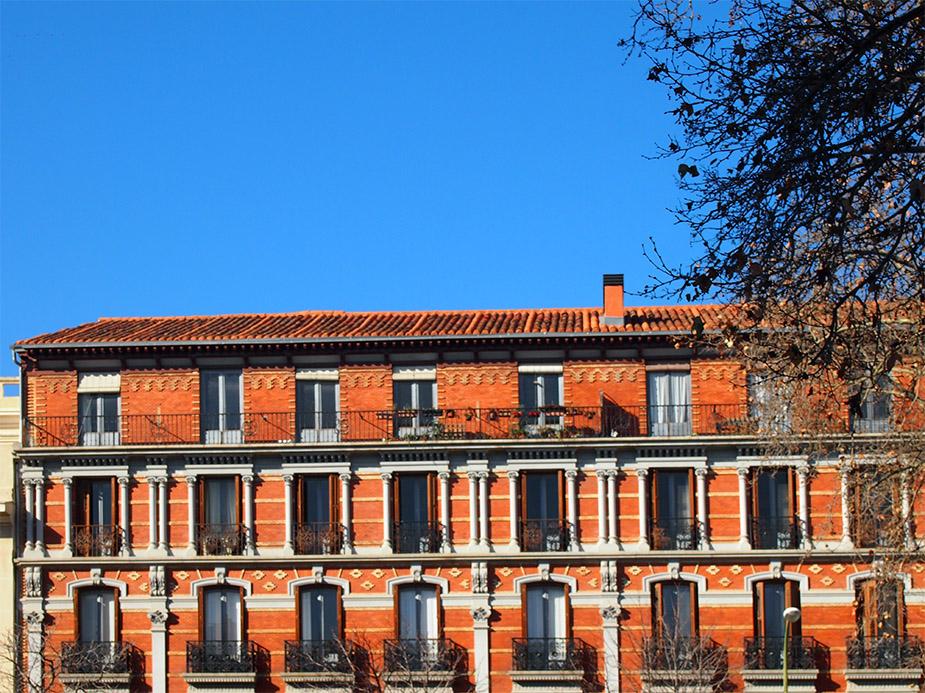 Barrio de las salesas edificio
