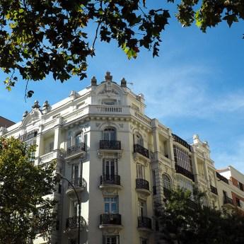 Edificios barrio Salamanca
