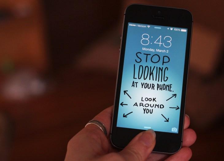 StopLookingAtYourPhone