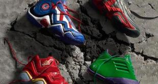 Adidas Limited Edition Marvel Avengers Sneakers Announced