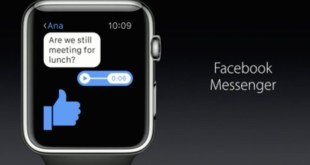 New Apps Like the Facebook Messenger Coming to the Apple Watch