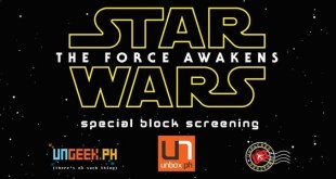 Come Watch Star Wars: The Force Awakens With Unbox, Ungeek and Unpacked!