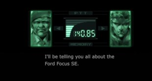 Ford Enlists Help Of Solid Snake In New Ads