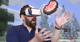 Minecraft Officially Lands In Samsung's Gear VR