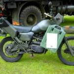 Harley Davidson MT 350E Army Bike