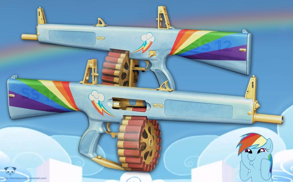 MLP AA12 shotgun