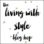 Living With Style Blog Hop-DIY Valentine's Day Shirt