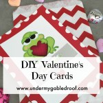 DIY Scratch Off Valentine's Day Cards