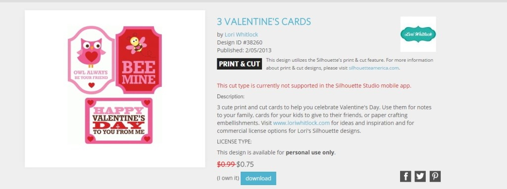 DIY Valentine's Day card using your Silhouette Cameo and Scratch off Sticker Paper. Make a fun Valentine's Day card for your kids to exchange at their Valentine's Day School Party.