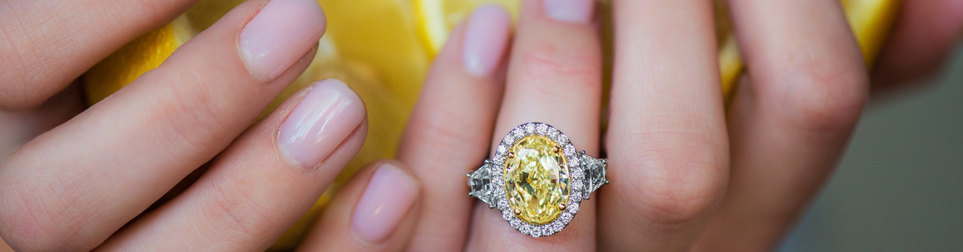 Fullsize Of Yellow Diamond Rings