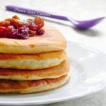 Pancakes bananes et rhum-raisins