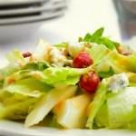 Salade de poires et gorgonzola