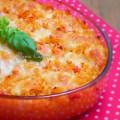 gratin de pâtes sauce tomate et mozzarella (8)