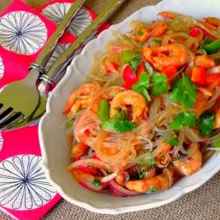 salade thaïe crevettes (10)