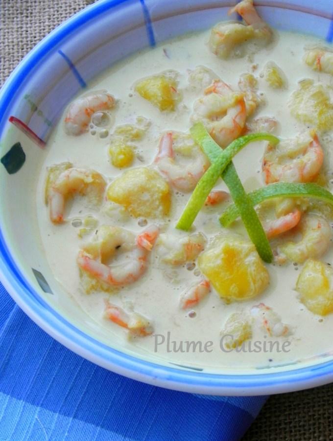 Crevettes-express-curry-lait-de-coco