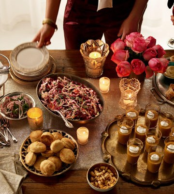 Holiday Entertaining Ideas:  Day 3- Preparation