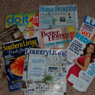 confessions of a magazineaholic!