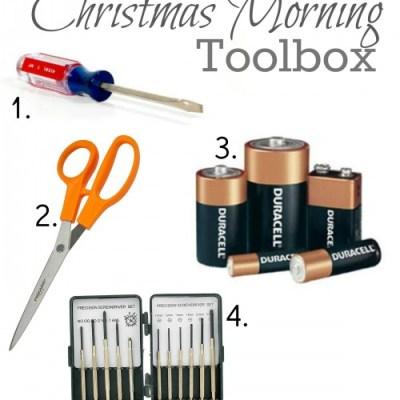 Christmas Morning Toolbox