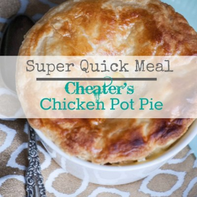 Quick Chicken Pot Pie:  Cheater's Version