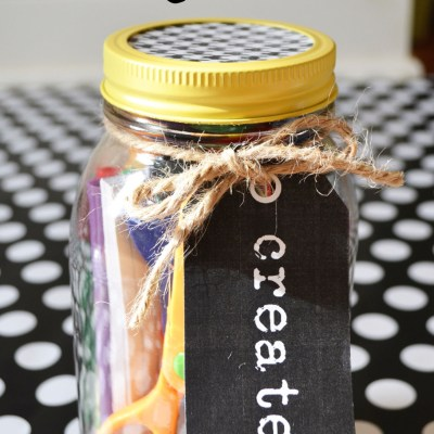 Use a CREATIVE Jar to Spur Your Child's Imagination!! Dollar Store Craft