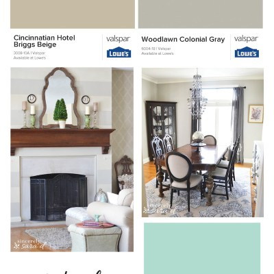 Choosing Paint Colors | House Palette