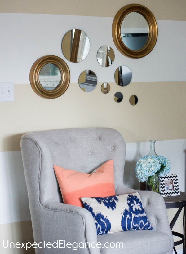 West Elm Inspired Gold Mirror-1-10