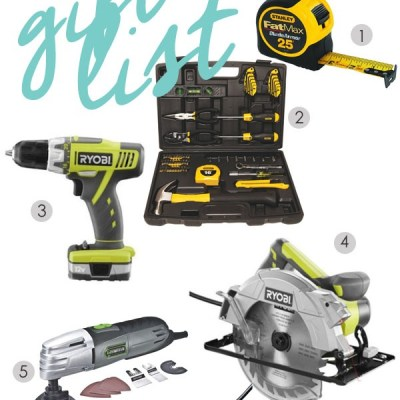 My Favorite Tools |   Beginning DIYer's Gift Guide