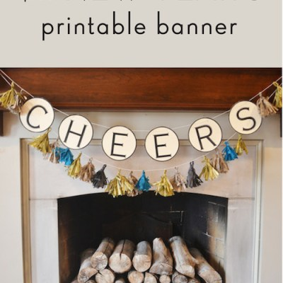 New Year's Printable Banner