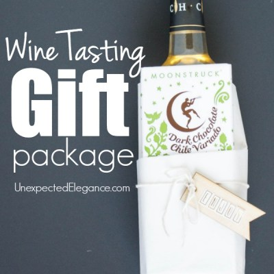Wine Tasting Gift Package