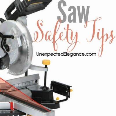 Saw Safety Tips {Video Series}