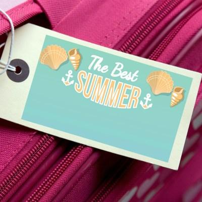 Free Summer Travel Printables