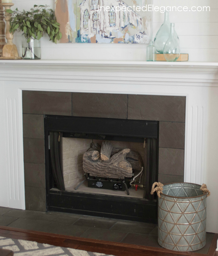 Stacked-Log-Fireplace-Insert-