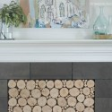Woodstack Fireplace Insert Tutorial (and $250 Giveaway)