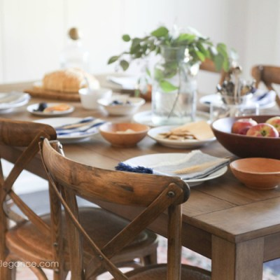 5 Inexpensive Ways to Decorate Your Fall Dining Room