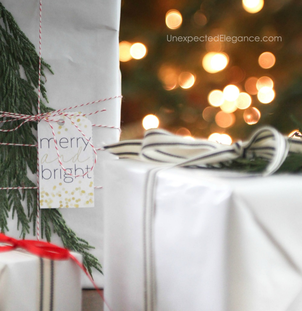 Make your gifts extra special with these FREE printable gift tags.